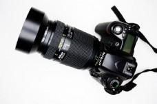 长镜头单反相机图片