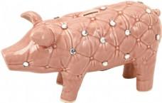 软包形储钱猪图片