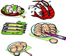 中式美食插画