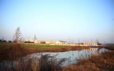 冬日乡村小河