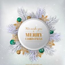 雪花圣诞素材