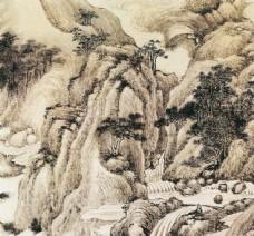 山水国画写意图片