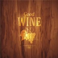 复古葡萄酒标签设计图片1