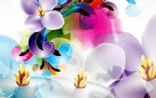 花卉矢量插画