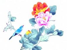 鸟语花香装饰画