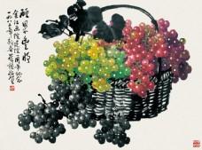 果篮与水果图片