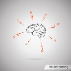 时尚创意大脑图片