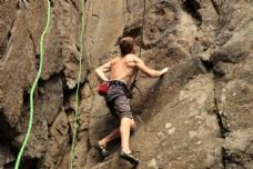 攀岩运动图片
