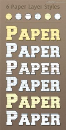 笔记本背景效果字体样式