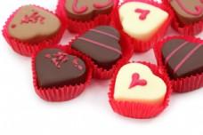 爱心巧克力图片