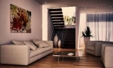 现代风格客厅室内设计图片