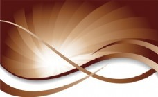 抽象背景设计在棕色和白色