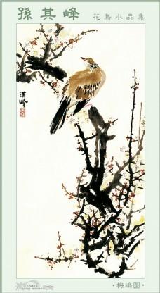 水墨花鸟装饰画
