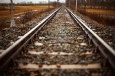轨,火车,路,直,轨道,铁路