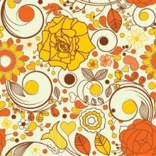 秋花的背景
