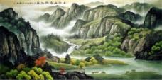 风景山水装饰画