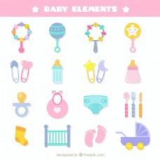 新生婴儿的元素