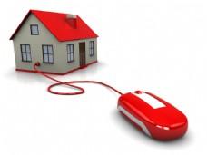 房子与鼠标图片