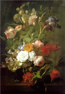 油画花卉装饰画
