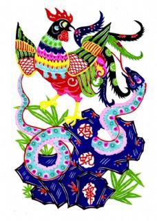鸡蛇舞素材图片