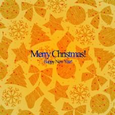 装饰图案模板圣诞卡