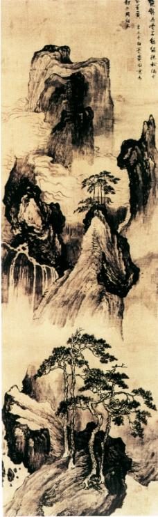 松山图装饰画