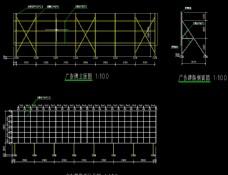 屋顶广告牌钢构施工方案施工图
