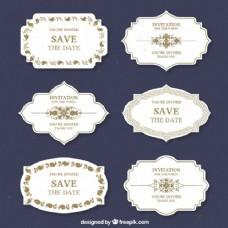 婚礼设计标签
