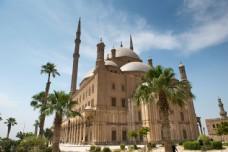 埃及城堡建筑图片