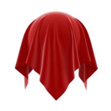 红色绸缎图片