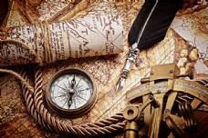 航海地图背景图片