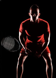网球运动员图片