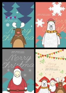 韩版可爱圣诞卡通抄本