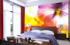花卉装饰背景墙