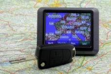 GPS导航地图手机图片
