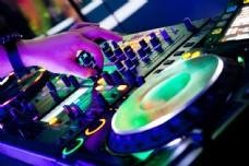 DJ音乐音响设备图片
