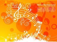 橙色的背景音乐