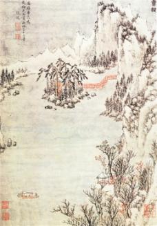 西林十六景图