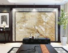 大理石豪华装饰电视背景墙设计