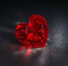 钻石爱心图片