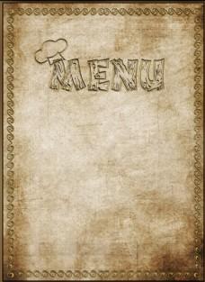 菜单模板图片