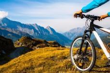 户外自行车运动图片