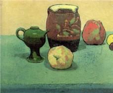 油画桌面水果装饰画