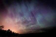 天空,夜晚,星星,极光,北极光,北部,灯,极光