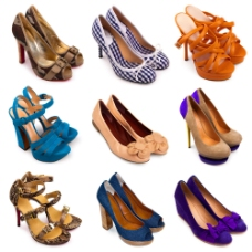 各种各样的精美鞋子图片
