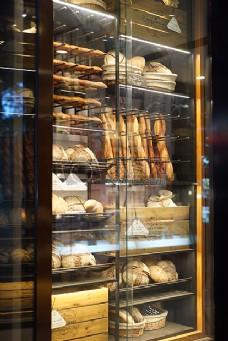 面包店橱窗