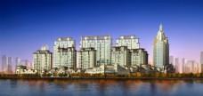 城市建筑透视图片