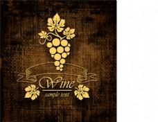 复古葡萄酒标签设计图片2