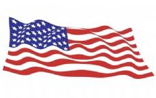 来自美国国旗矢量包的示例文件