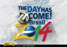 巴西2014天活动的开始
